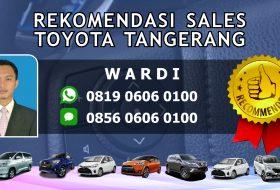 Rekomendasi Sales Toyota Tanggerang Selatan